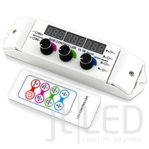 RGB LED Controller with Remote