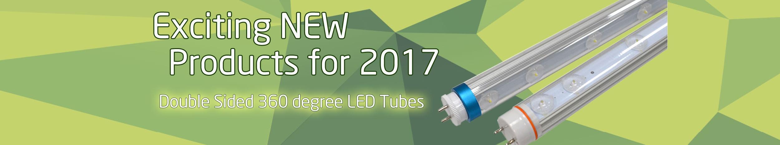 LED T8 360 Degree Double Sided Tube