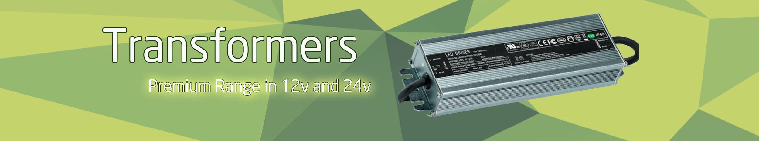 LED Transformers 12v and 24v